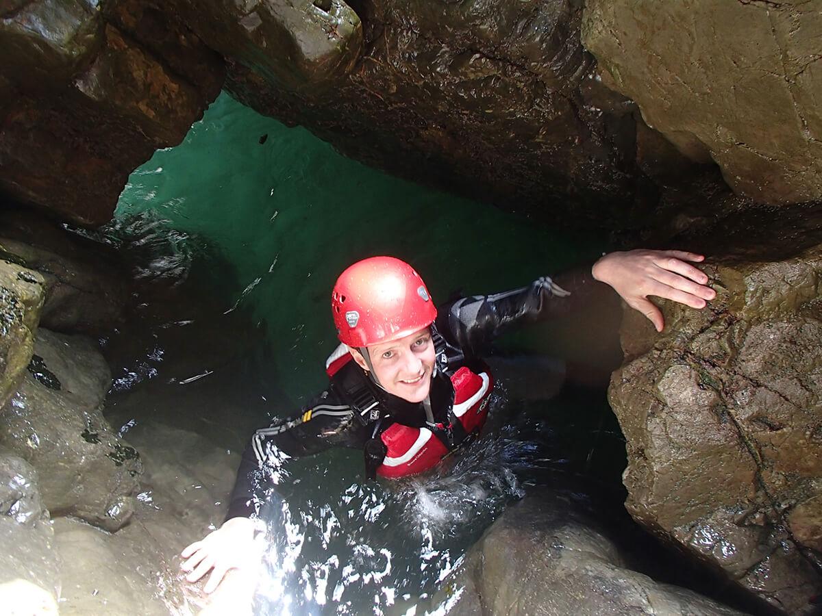 Coasteering Cave