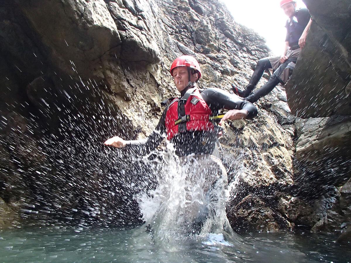 Coasteering Cave Jump