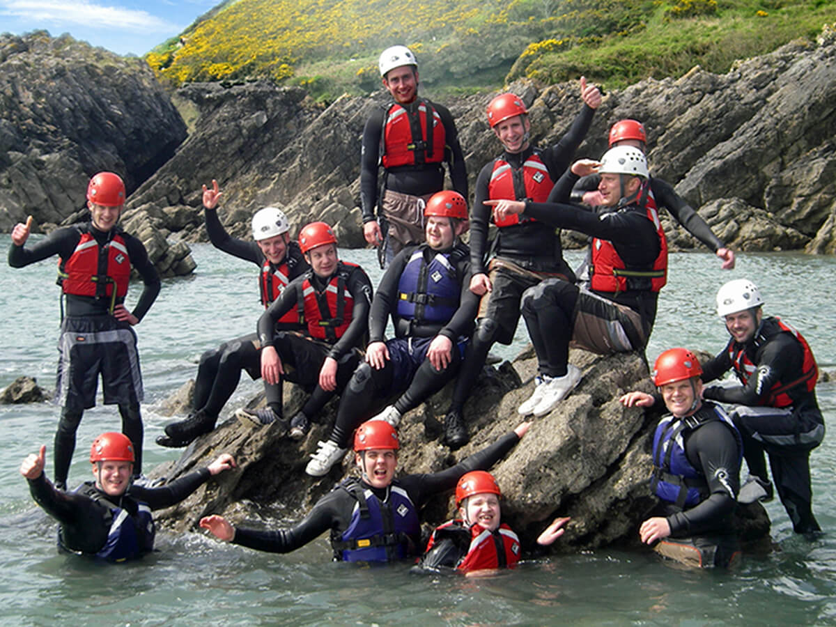 Coasteering Group photo