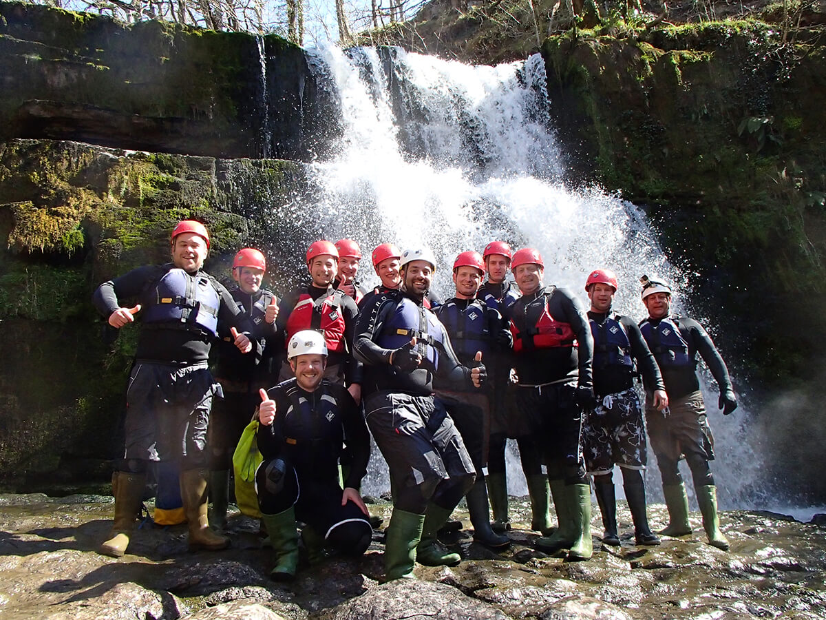 Happy Group Canyoning