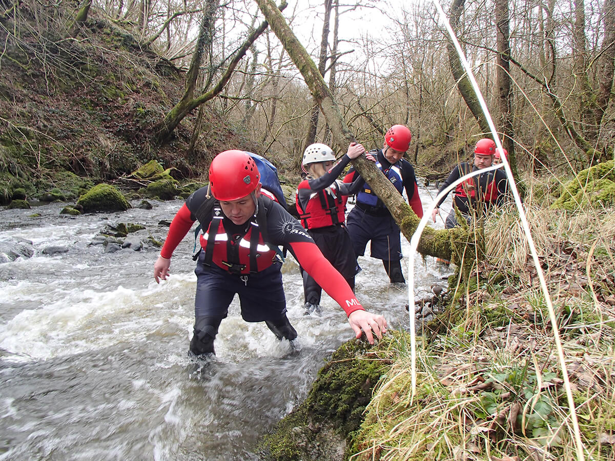 Getting hands on Gorge Walking