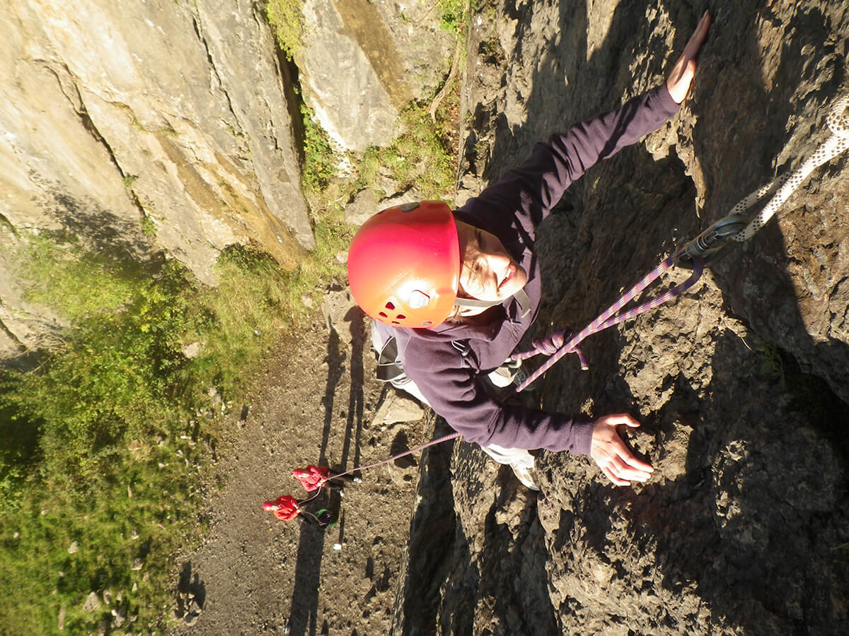 Rock Climbing in the Brecon Beacons