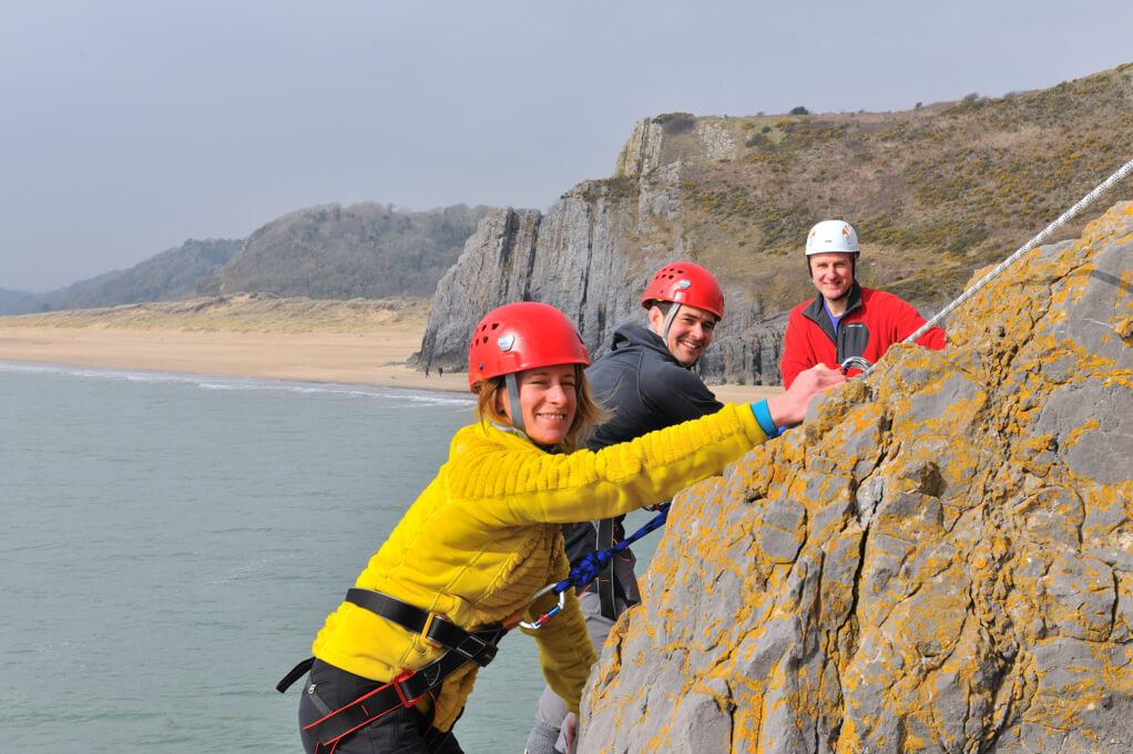 Seaf Cliff Climbing