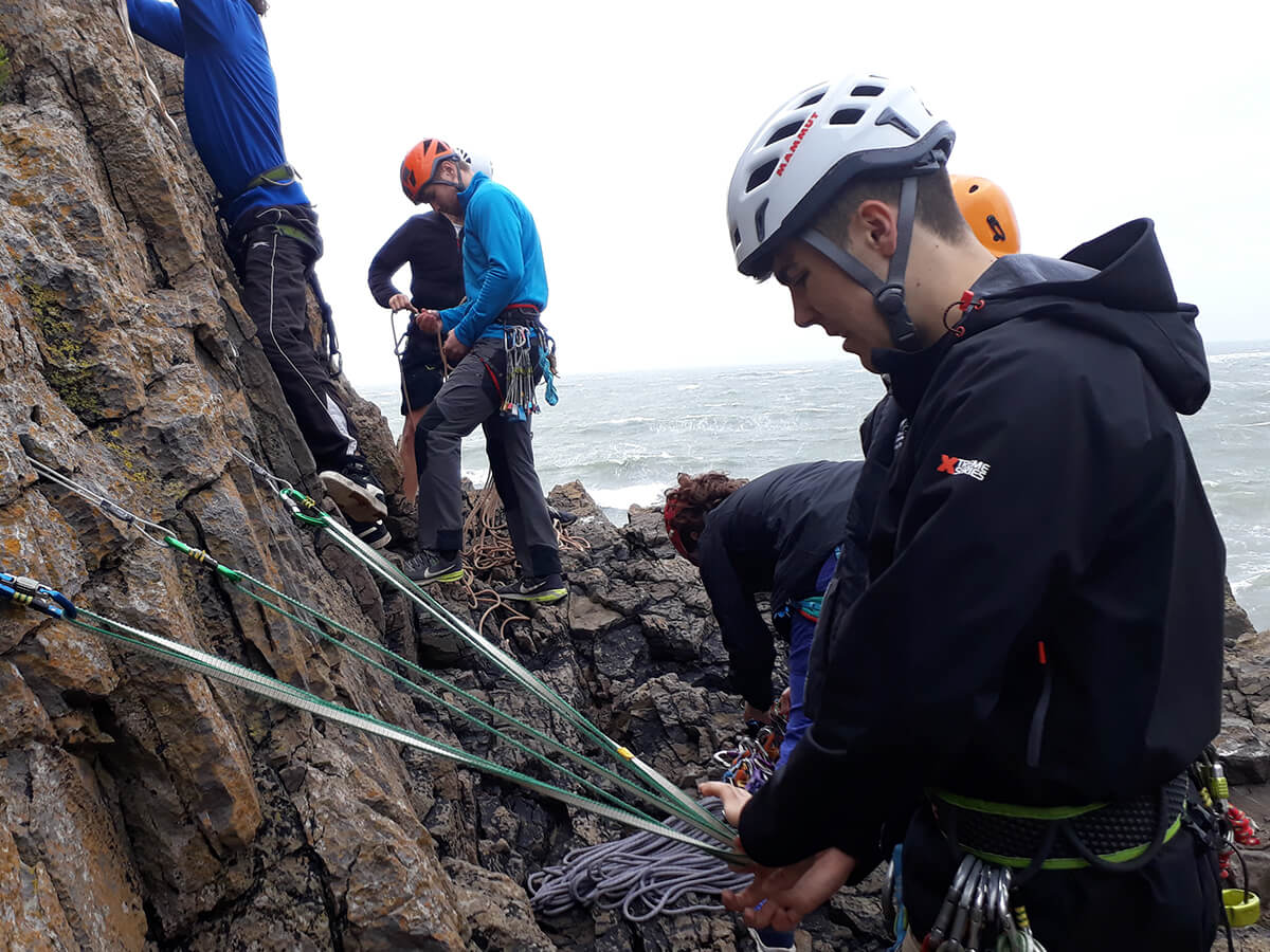 Climbing Instructor Skills training