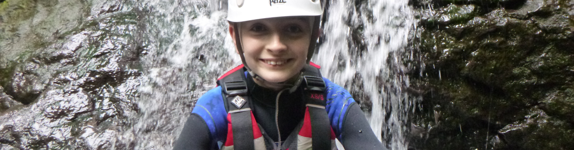 Gorge Walking Scouts