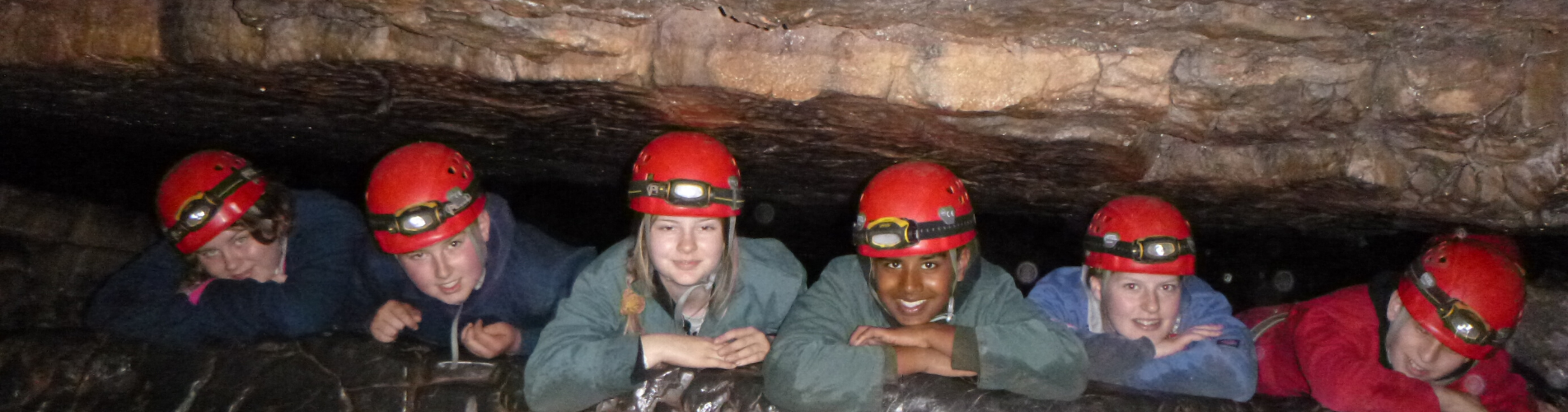 Caving Scouts
