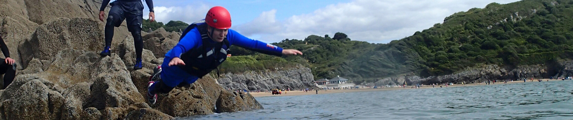 Coasteering South Wales